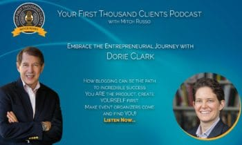 001: Embrace the Entrepreneurial Journey with Dorie Clark