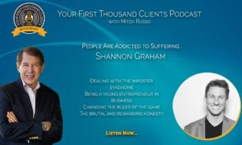 011: Shannon Graham on People Being Addicted To Their Own Suffering