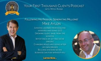 016: Mike Ayalon on Following His Passion