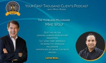 017: Mike Wolf is The Homeless Millionaire