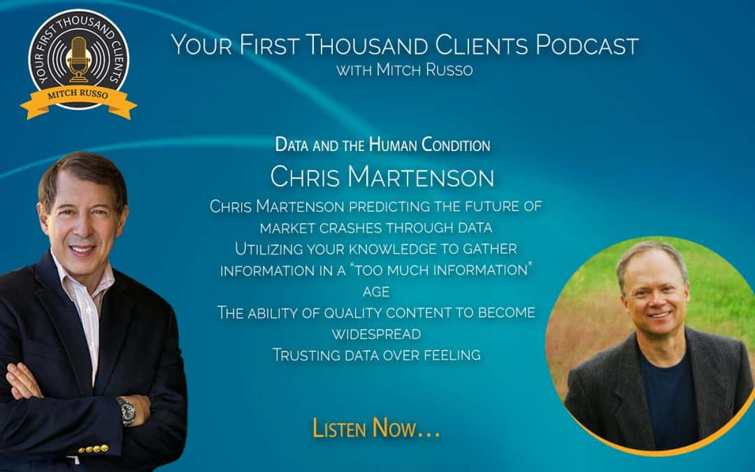 035: Chris Martenson On Data and the Human Condition