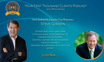 037: Steve Gordon On Choosing Your Persistence