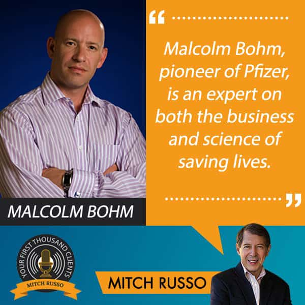 Your First Thousand Clients, Mitch Russo, A Medical Mindset Born From Business Pivots, Malcolm Bohm