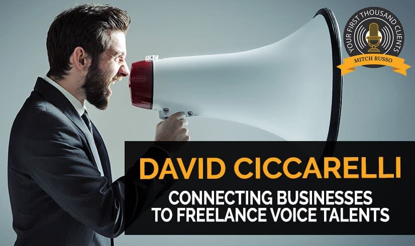142: Connecting Businesses To Freelance Voice Talents with David Ciccarelli